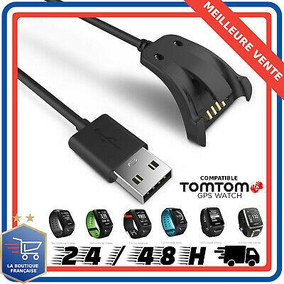 Câble Chargeur USB Montre TomTom Runner 2,3 Spark 1,3 Golfer2 Adventurer 100cm | eBay