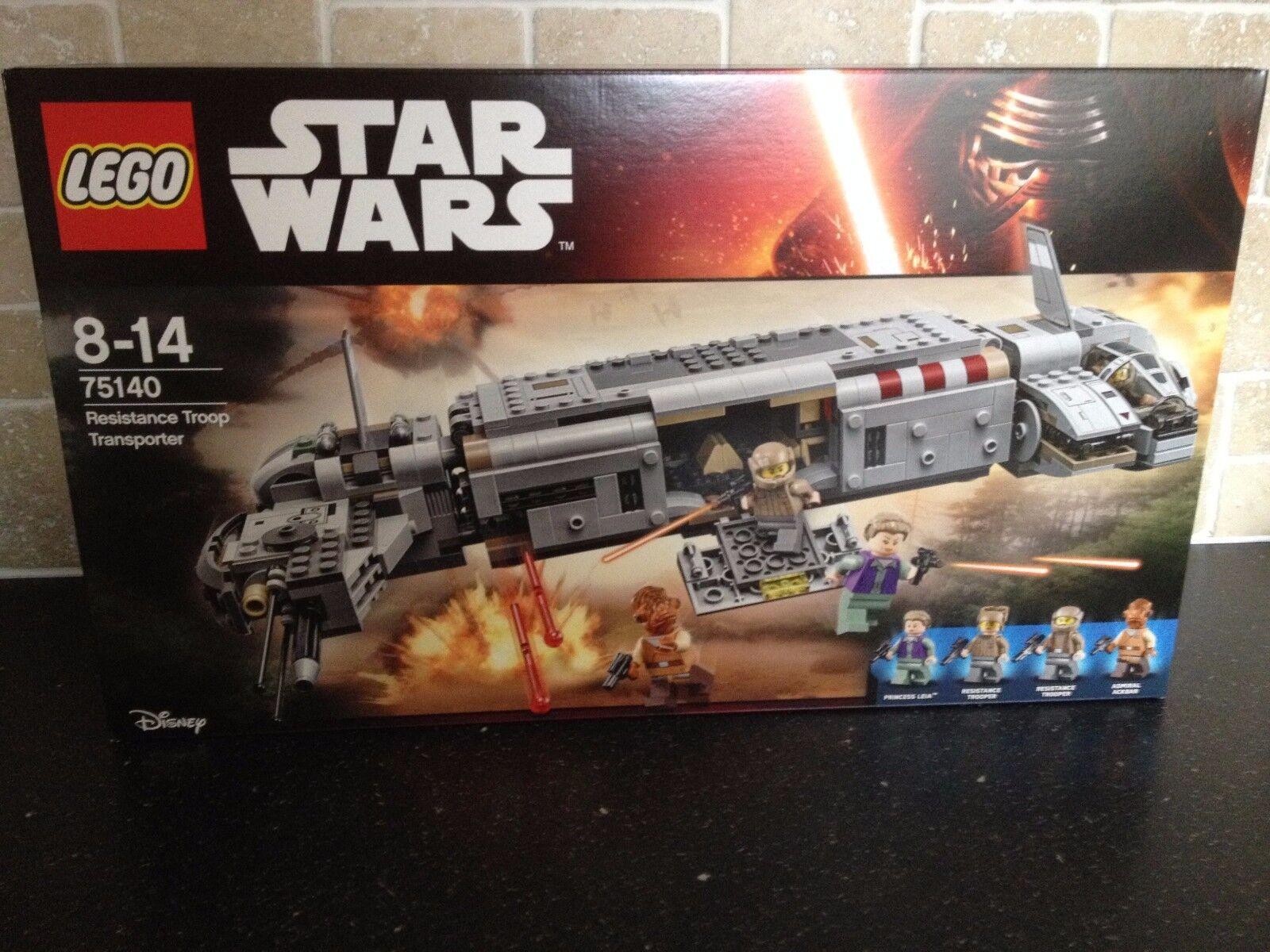 Lego Star  Wars - 75140 Résistance TROOP TRANSPORTER  Neuf en boîte scellée   livraison gratuite!