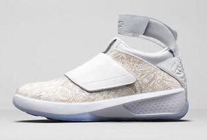 2015 Nike Air Jordan 20 XX Retro Laser Size 8. 743991-100 1 2 3 4 5 ... e439916b6a