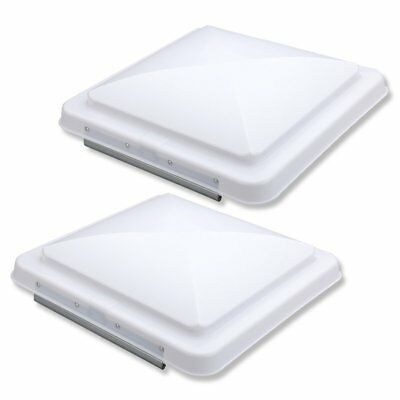 Vetomile 2 Packs 14 Inch Rv Roof Vent Cover Universal