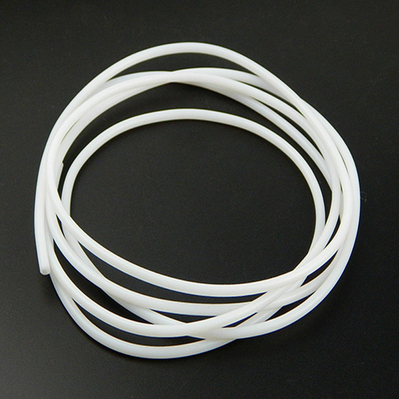 NEW 2M PTFE Teflon Tube 2mm ID 4mm OD For 1.75mm Filament 3D Printer RepRap