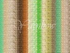 NORO ::Kureyon #350:: wool knitting yarn Fall-2014 Ecru-Lime-Nut-Yellow-Mint