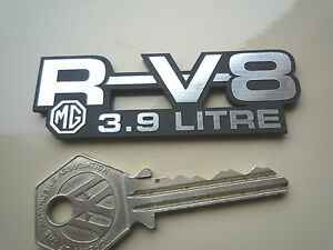 MG-RV8-3-9-Litre-Self-Adhesive-Car-Badge-Project-Adder-R-V8-MGR-Laser-Cut