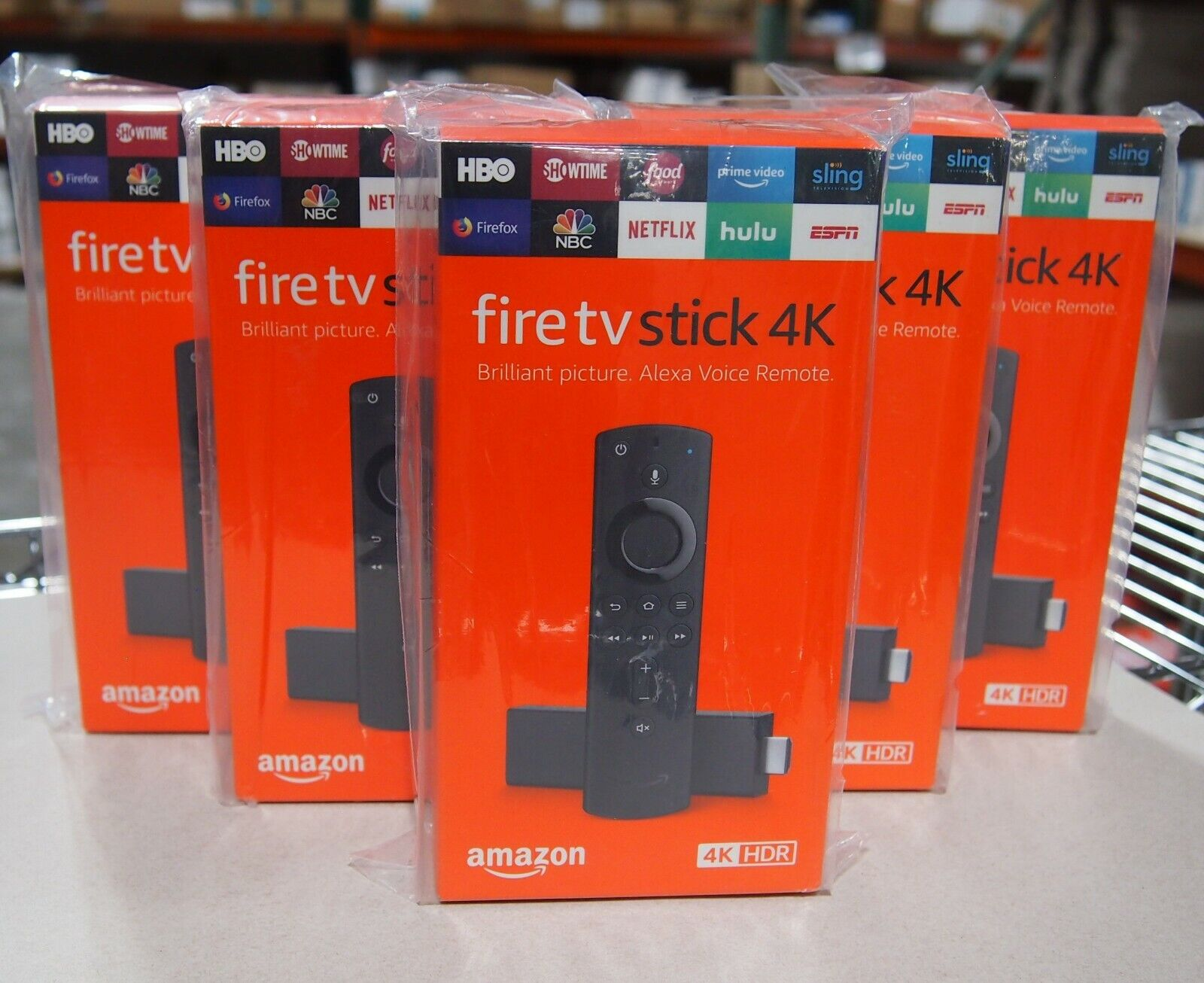 Amazon Fire TV Stick 4K with Alexa Voice Remote, Streaming Media Player - Black alexa amazon black fire media player stick streaming voice with