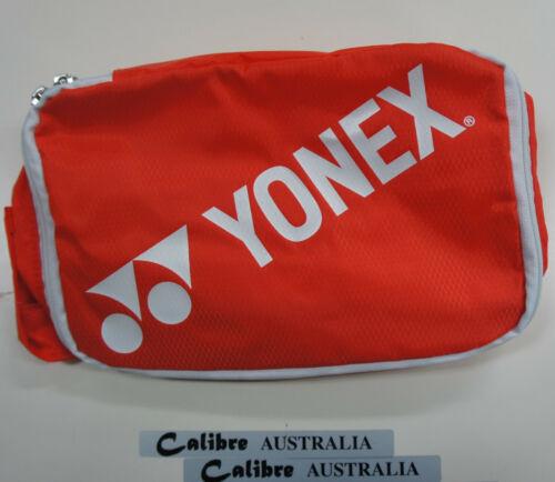 100/% Nylon YONEX  Travel Pouch Medium Bag1996MEX Orange Size 26 x 18 x 9 cm