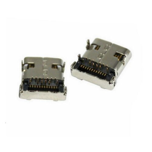 USB 3.1 Type C Connector 24 Pin Female Surface Mount Right Angle  2//5//10//20 PCS
