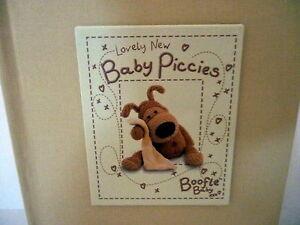 034-BOOFLE-034-LOVELY-NEW-BABY-PICCIES-PHOTO-ALBUM-CHRISTENING-NEWBORN-GIFT-BNIB
