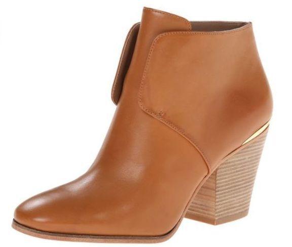 Cole Haan Hayden Booslips Pecan läder Ankle Designer BOOTS kvinnor kvinnor kvinnor 10 ny I BOX  klassiskt mode