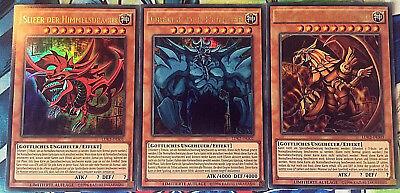 Yugioh ägyptische Götterkarten