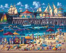 DOWDLE FOLK ART COLLECTORS JIGSAW PUZZLE HOLLYWOOD CALIFORNIA 500 PCS #00215