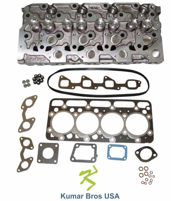 """New Kubota V2003 """"Complete"""" Diesel Cylinder Head &  Upper Gasket Set"""
