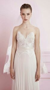 55ac607945fe Image is loading Alon-Livne-Wedding-dress-Romantic-wedding-gown-Bridal-
