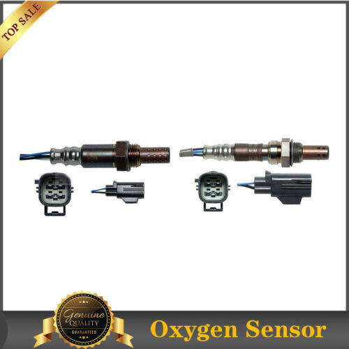 Up&Downstream-Denso Oxygen Sensor 2PCS For 2005 Volvo S40 2.4L