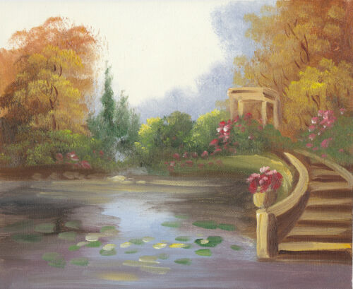 COUNTRY LANDSCAPE 2 30 TO CHOOSE FROM ART OIL PAINTING OR CANVAS PRINTS 8x10/""
