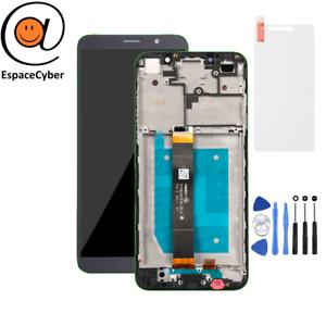 LCD-Ecran-tactile-Huawei-Y5-2018-Noir-Chassis-Frame-Cadre-DRA-L01-DRA-L21