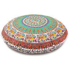 "Oversized Throw Decorative Floor Pillow Cushion Cover Case Mandala- 32"""