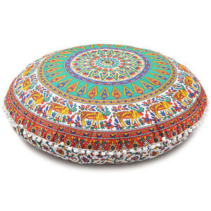 Oversized Decorative Pillow Covers : Oversized Throw Decorative Floor Pillow Cushion Cover Case Mandala- 32