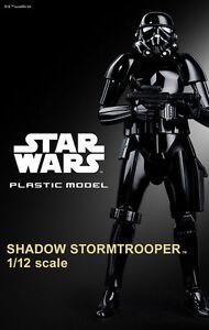 Japan P/BANDAI STAR WARS 1/12 Scale Plastic Model : SHADOW STORMTROOPER