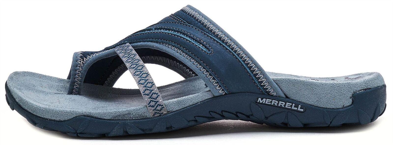 Merrell Terran Post II Damen Sandale in Schiefer-Blau J98750