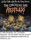 The Chickens Are Restless von Gary Larson (1993, Taschenbuch)