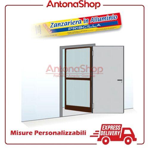Moustiquaire à Battant pour Porte et Fenêtre Aluminium Fin A 150x240 cm Novelty