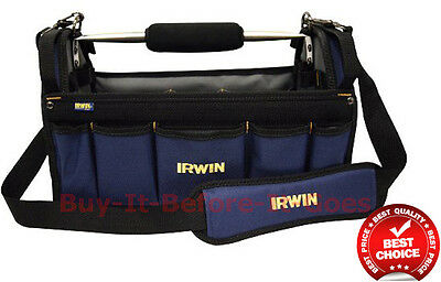Irwin Tools Box Bag Tote Electricians Plumbers Tradesman Carpenter Wholesale