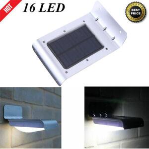 Solar-Power-Security-Light-16-LED-Motion-Sensor-Outdoor-Wall-Lamp-Waterproof-US