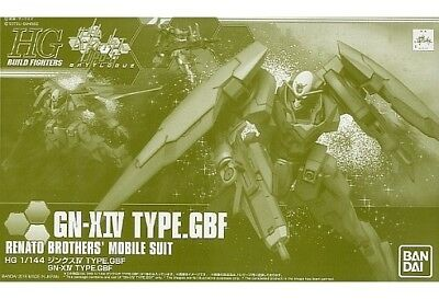 Bandai Hgbf 1/144 Gn-xiv Type.gbf Plastik Modellbau Set Gundam Gebaut Fighters Action- & Spielfiguren