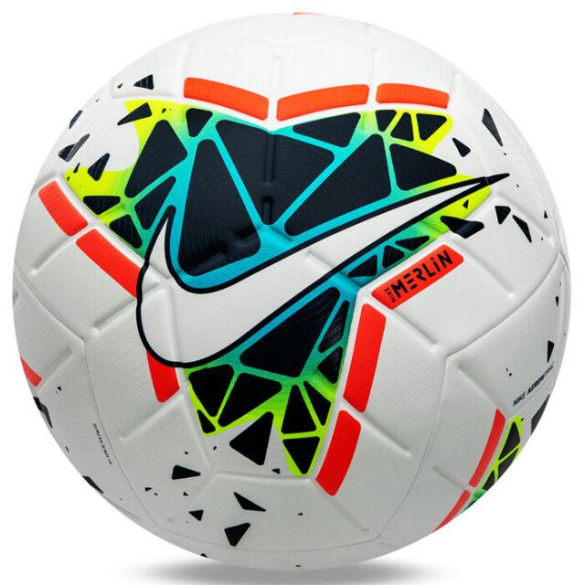 Nike Merlin Official Match Soccer Football Ball FA19 White SC3635,100