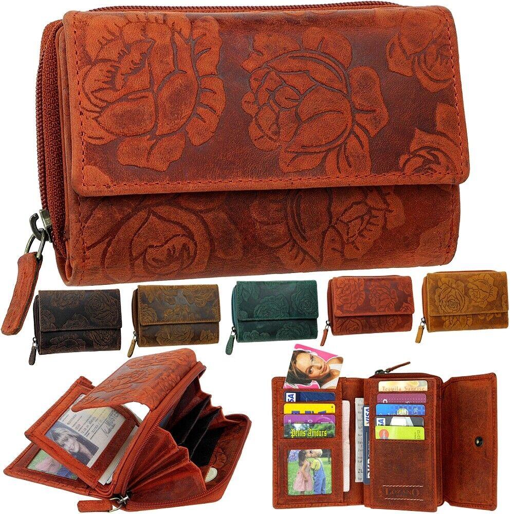 Lozano Women's Wallet Real Leather Wallet Purse