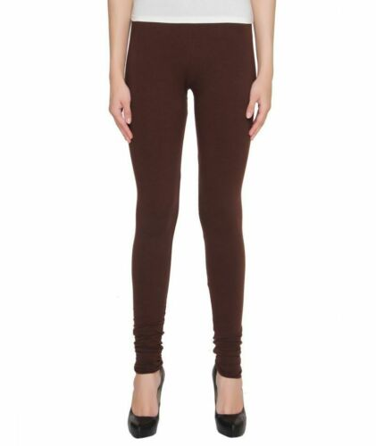NEW LADIES COTTON LEGGINGS FULL LENGTH ALL COLORS WOMENS SKINNY FIT SIZE 8-22