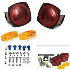 Trailer Light Kit Multi-Function Tail Light Side Signal Mark Truck Boat 12V
