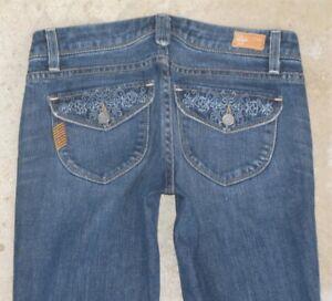 25 Chaussettes Womens Haute Paige Jeans Taille Sz Pico Premium De CYxwRqwF