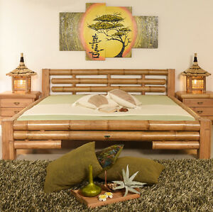 bambusbett 200x200 koh tao natur bambusm be l bambus bett. Black Bedroom Furniture Sets. Home Design Ideas