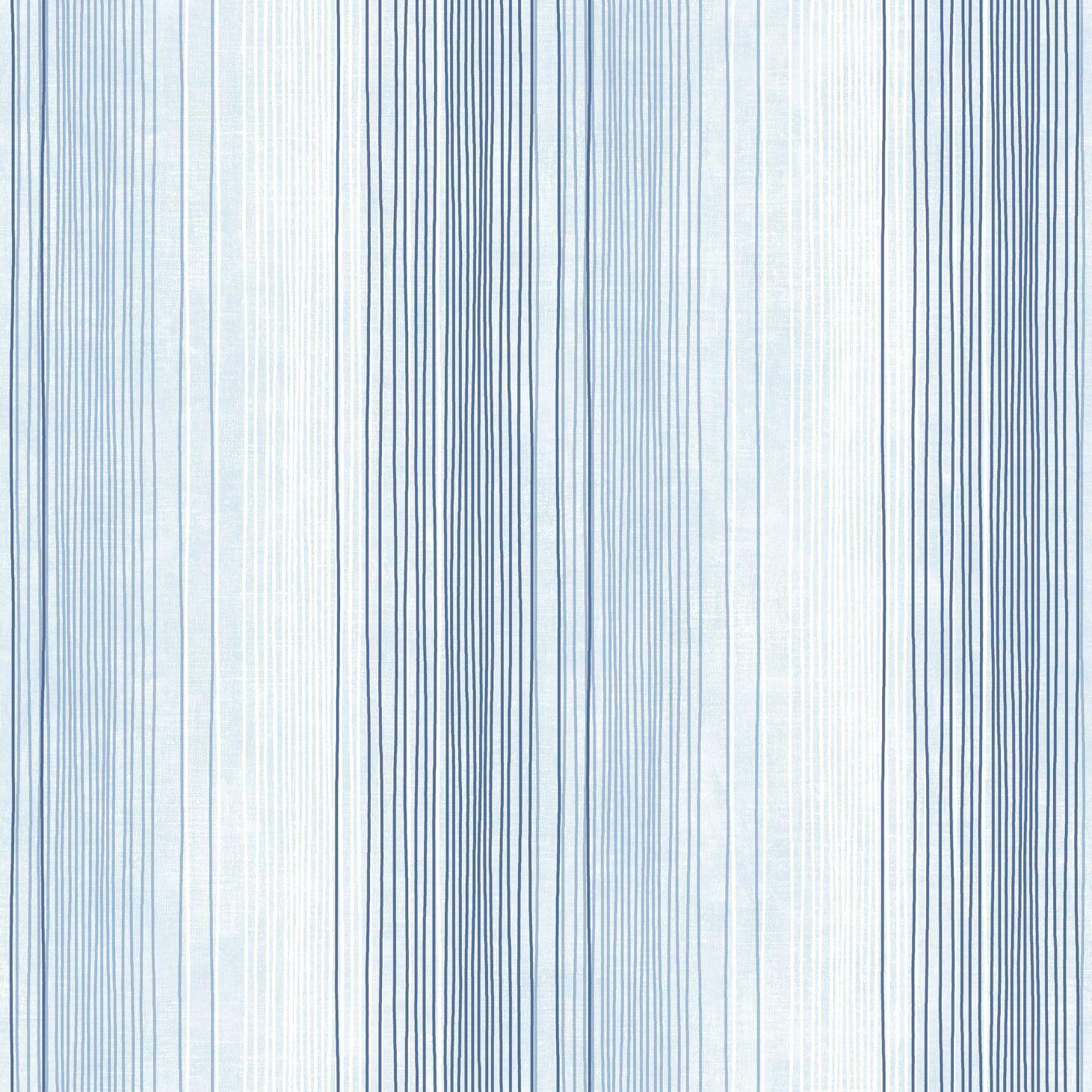Essener Tapete Simply Stripes 3 St36920 Light bluee Vinyl Wallpaper