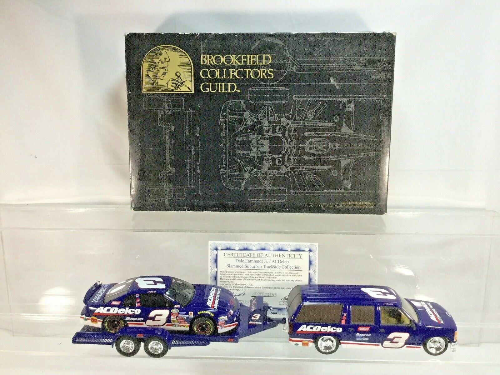 Dale Earnhardt Jr 1999 Brookfield  3 AC Delco Trackside Colección 1 24   2928