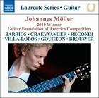 "Johannes M""ller: 2010 Winner of the Guitar Foundation of America Competition (CD, Apr-2011, Naxos (Distributor))"