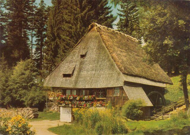 Im schönen Schwarzwald , Rankmühle bei St. Märgen , Ansichtskarte
