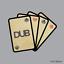 thumbnail 1 - Volkswagen VW Dub Playing Cards Sticker car decal camper van 110x130mm