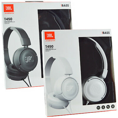9cd7f0d4f7e Details about Genuine JBL T450 On-Ear Headphones Headset Pure Bass  Smartphones MP3/4 Handsfree