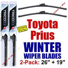 WINTER Wipers 2pk Premium Beam Blades - fit 2010-2015 Toyota Prius - 35260/190