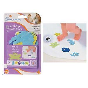 10 Anti Non Slip BATH MAT Baby Child Safety Bathub Bathing Shower Gift Dreambaby 9312742301293