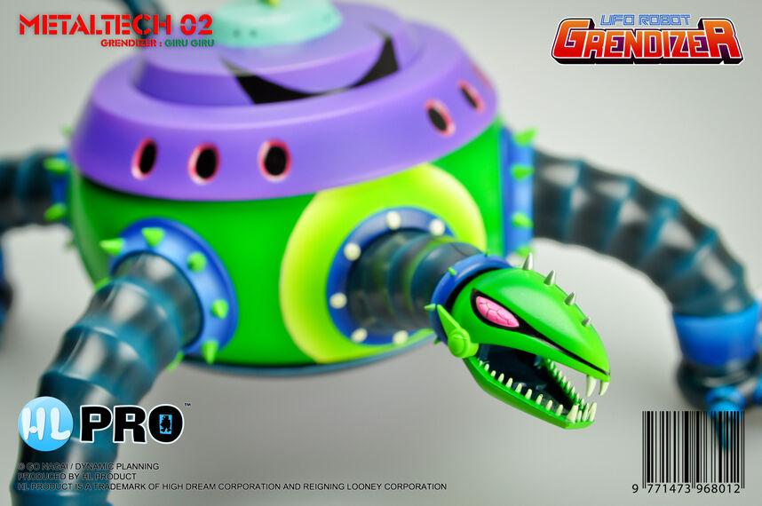 High Dream HL Pro Metaltech MT02 Grendizer Giru die cast actionfigur