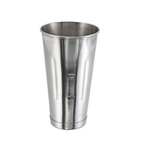 Winco MCP-30, 30-Ounce Malt Cup, Stainless Steel