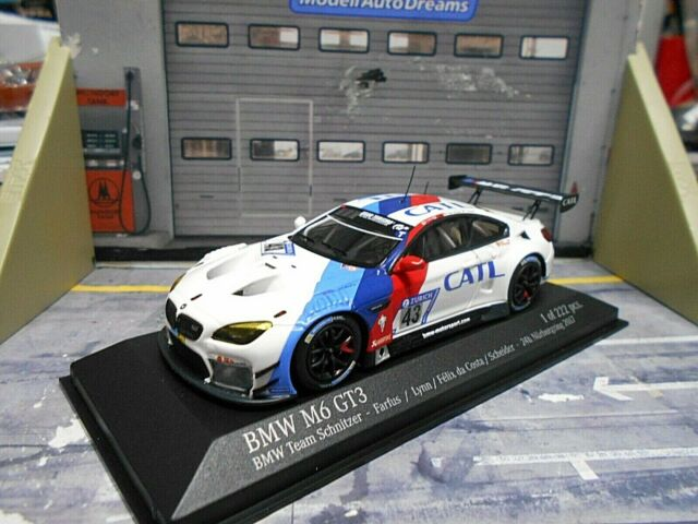 Bmw m6 gt3 Walkenhorst Motorsport Dunlop VLN nurburgring 2017 1:43 Minichamps