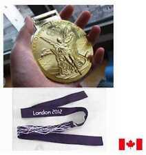 London 2012 Olympic 'Gold' Medal  + Ribbon