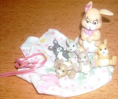 a Magic diaper Little Joys Mommy and 5 babies full set 1992 galoob rare