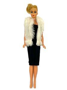 Vintage-BARBIE-Doll-TnT-Twist-n-039-Turn-1966-68-Japan-Blonde-Rooted-Eyelashes
