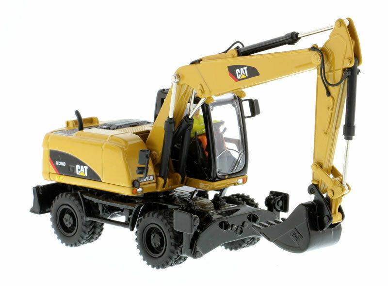 calidad auténtica Cat Caterpillar M316D M316D M316D Excavator 1 50 Diecast rueda modelo de ingeniería de Juguete 85171  Tu satisfacción es nuestro objetivo