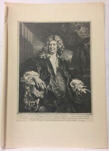Engraving-Portrait-of-Martin-Van-Den-Bogaert-Gerard-Edelinck